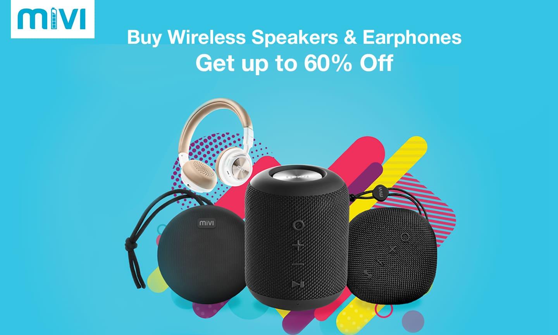 Mivi Headphones & Speakers