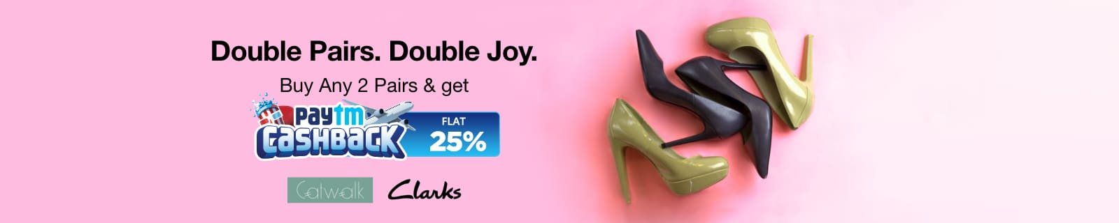 Women Footwear | Flat 25% Cash Back
