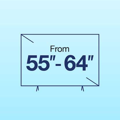 """TV between 55""""-64"""" Inch"""