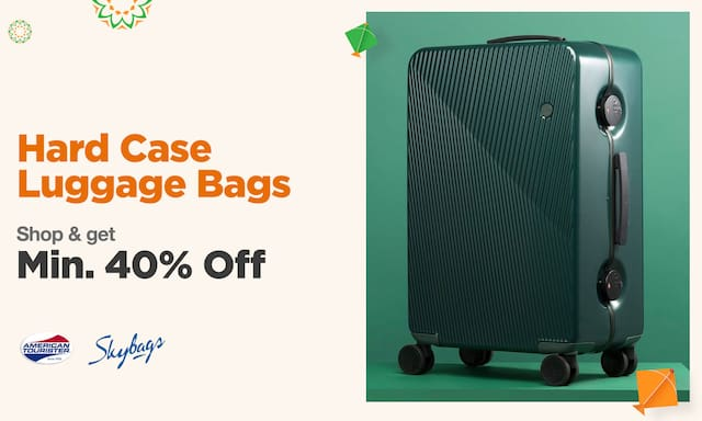 Luggage Bags | Min. 40% off