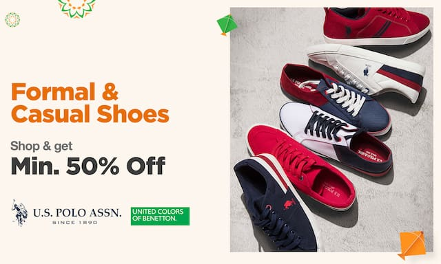 Formal & casual shoes | MIn 50% Off
