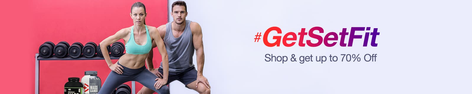 Fitness Essentials Upto 70% Off