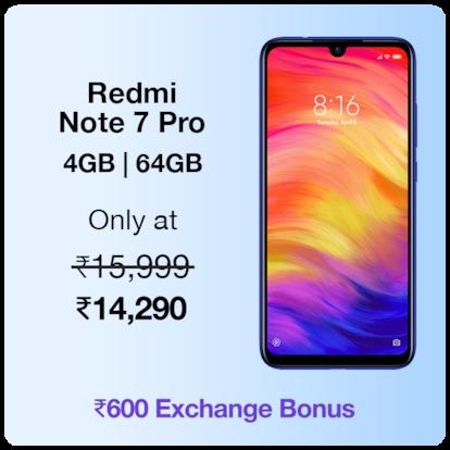 Redmi Note 7 Pro 4GB|64 GB