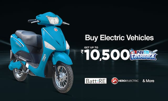 Electric Vehicle !! Up to Rs 10000 CB