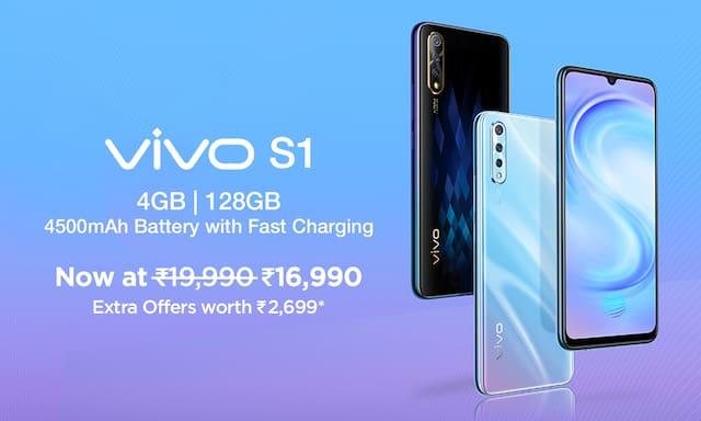 Vivo S1 4GB|128GB