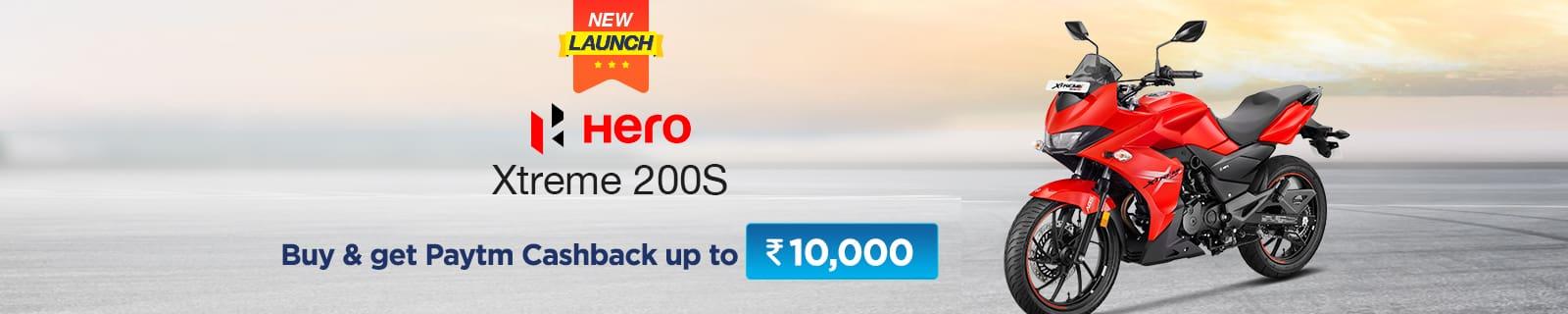 New Launch !! Hero Xtreme 200S