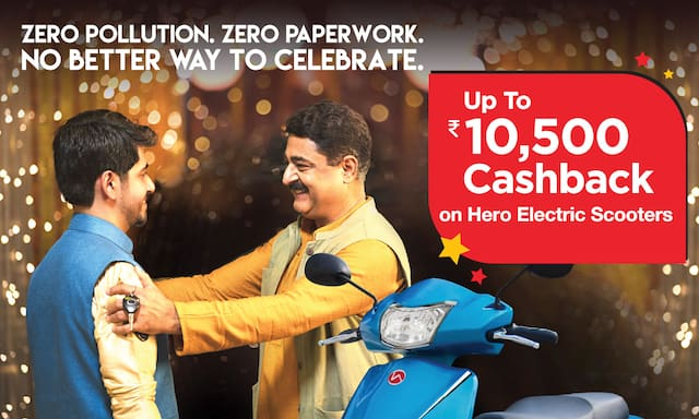 Hero Electric Scooters || Up to Rs 10500 Cashback