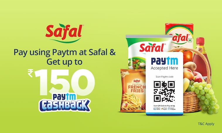 Pay using Paytm | Get Up to Rs.150 Cashback