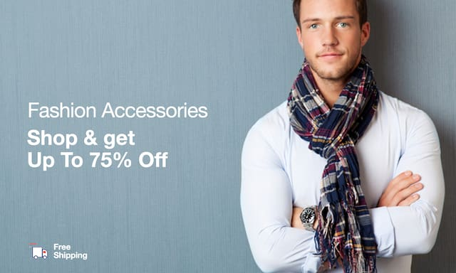 Men's Winter Accessories | Upto 75% Off