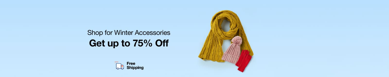 Winter Accessories | Up to 75% Off