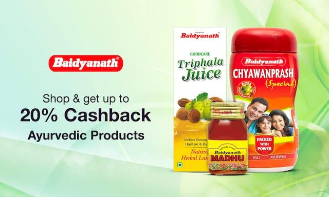 Baidyanath | Up To 20% Cashback
