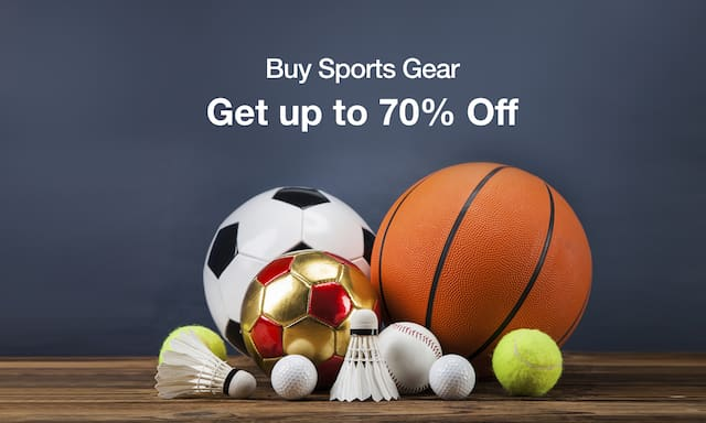 Sports Gear | Starting Rs 50