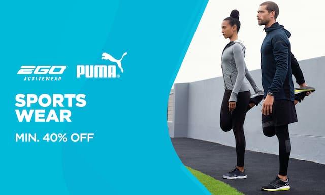 Sports Wear   Min 40% Off