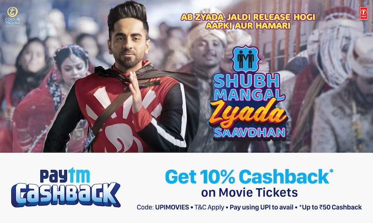 Movie Tickets | Get 10% Cashback
