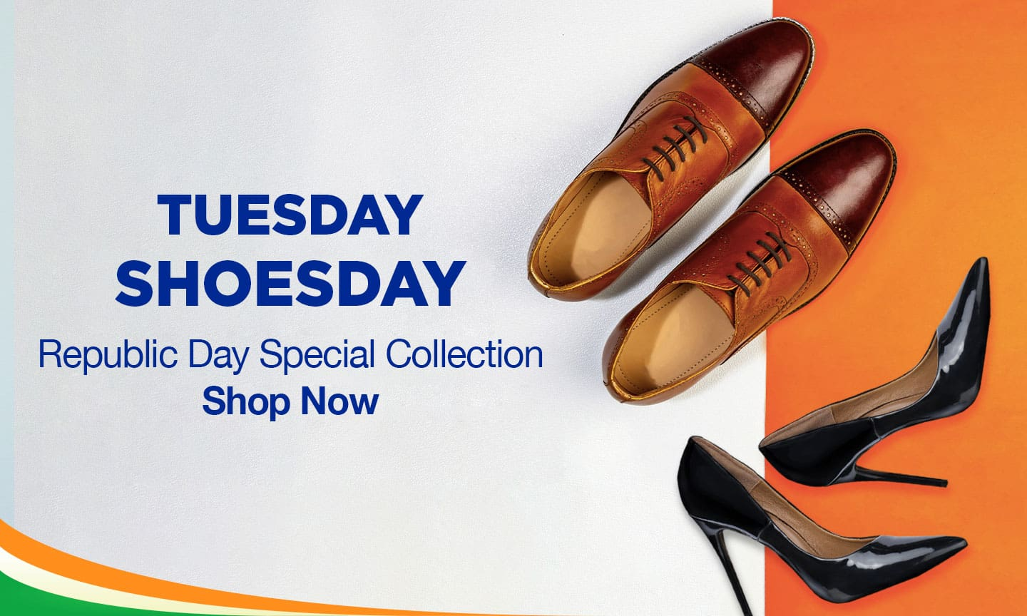 Tuesday Shoesday | Republic Day Special