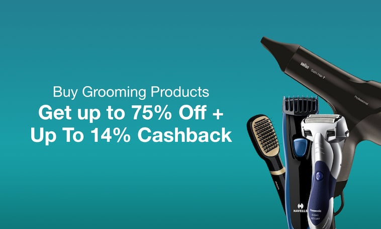 Personal Grooming | Up to 14% Cashback