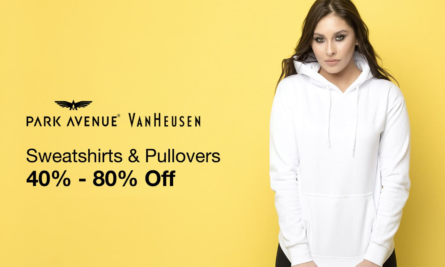 Sweatshirts and Pullover   40-80% Off