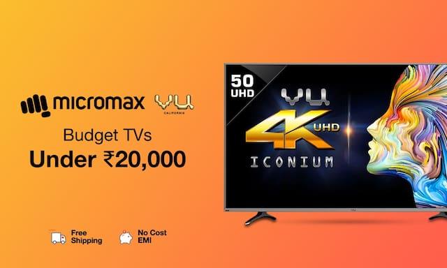 Budget TVs Under Rs.20,000