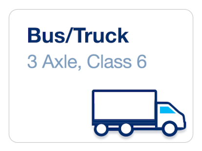 Bus/Truck 3 axle - Class 6