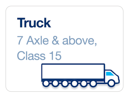 Truck 7-Axle And Above- Class 15