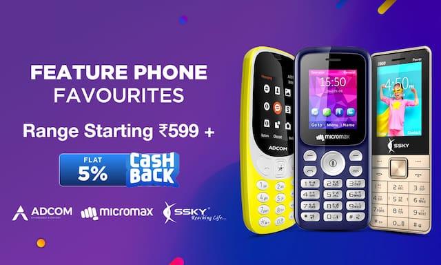 Feature Phones | 21-24 Feb