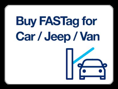 Car/Jeep/Van FASTag