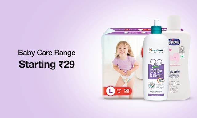 baby Care Range | Starting Rs.29