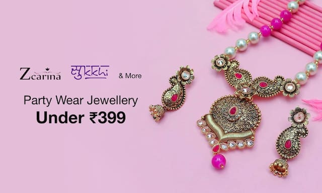 Party Wear Jewellery | Under Rs 399