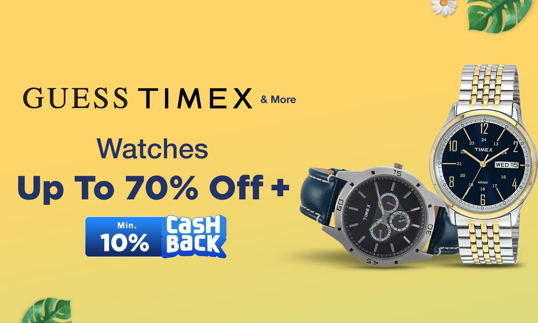 Watches | Min. 10% Cashback