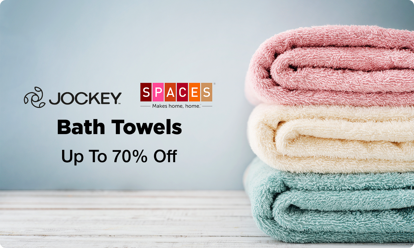 Bath Towels Upto 70% Off