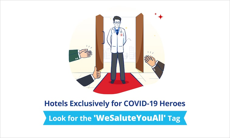 COVID-19 Heroes | Book Hotels