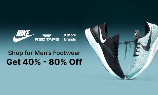 Men Footwear   40%-80% Off