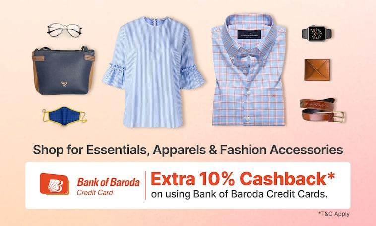 Shop Now | Get Extra 10% Cashback