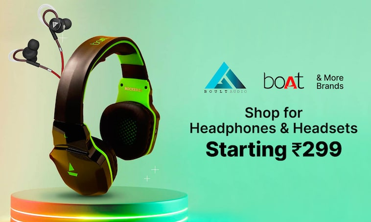 Headphones | Starting Rs 299