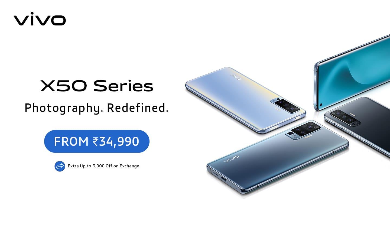 Vivo X50 Launch
