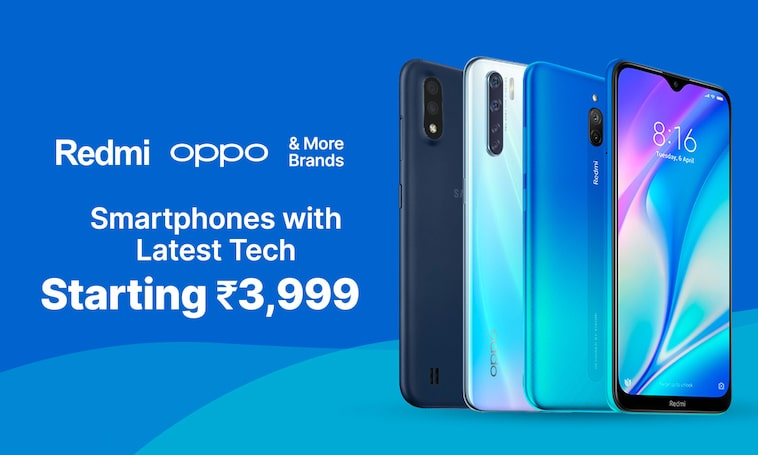 Smartphones | Starting Rs 3999