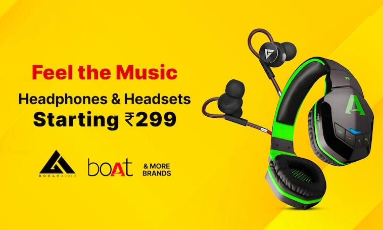Headphones | Starting Rs 299