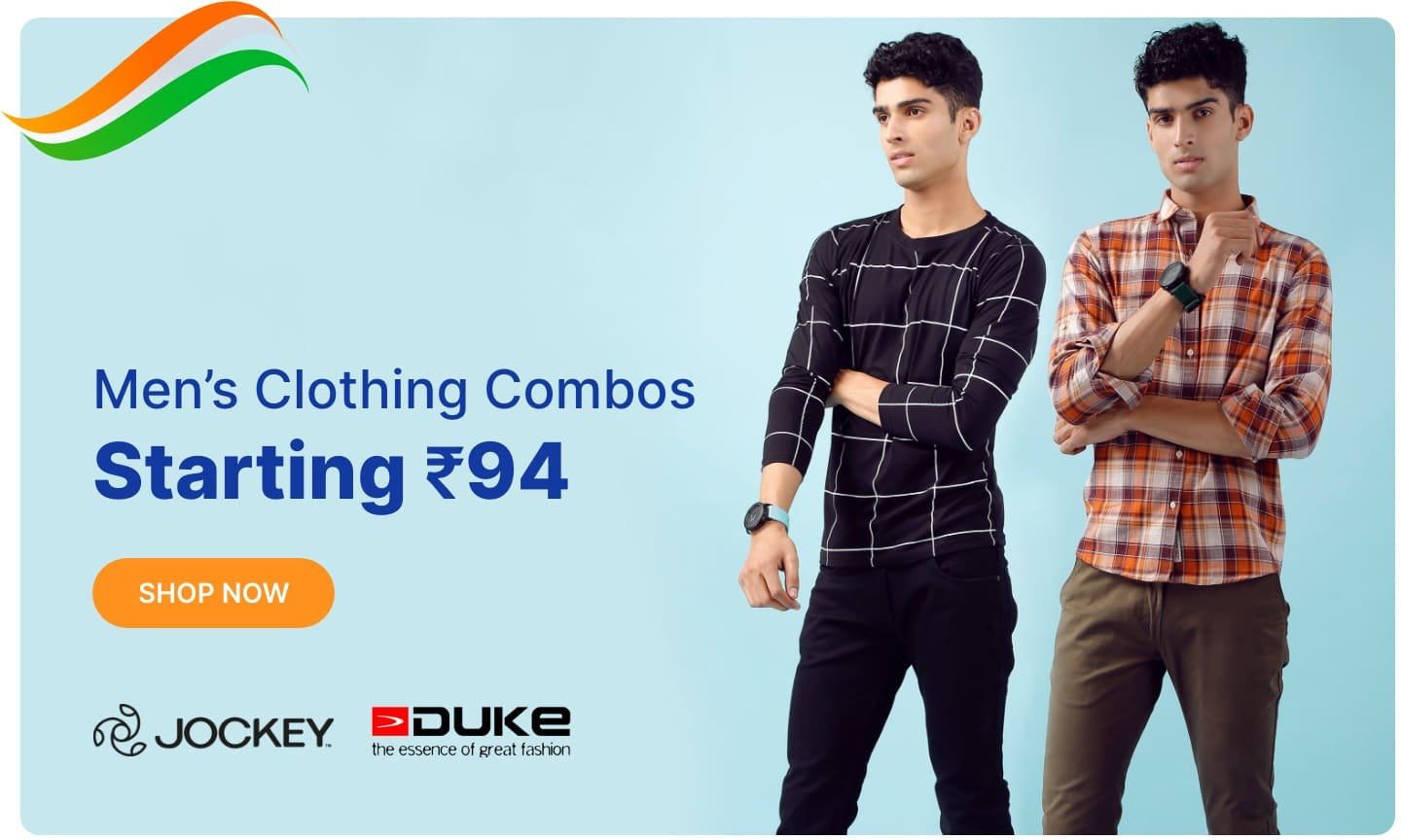 Men Clothing Combo | Starting Rs 94