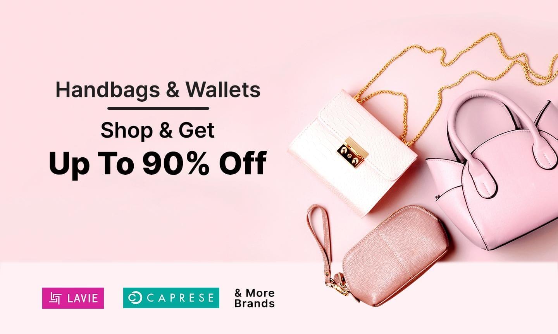 Handbags & Wallets | Upto 90% Off