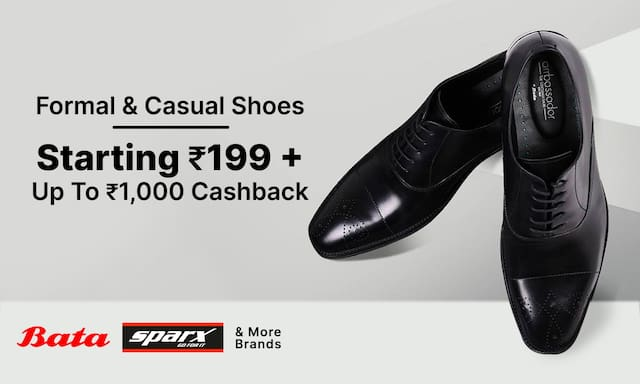 Formal & Casual Shoes | Starting Rs 199