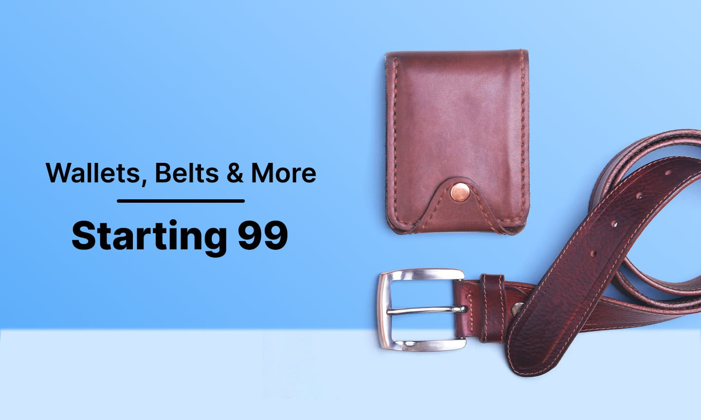 Wallets Belts & More   Starting Rs 99
