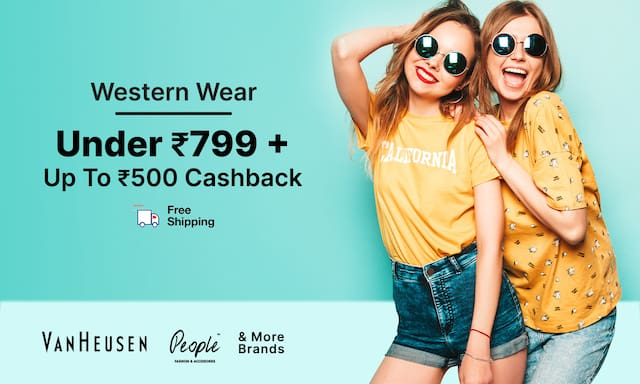 Western Wear | Under Rs 799 + CB