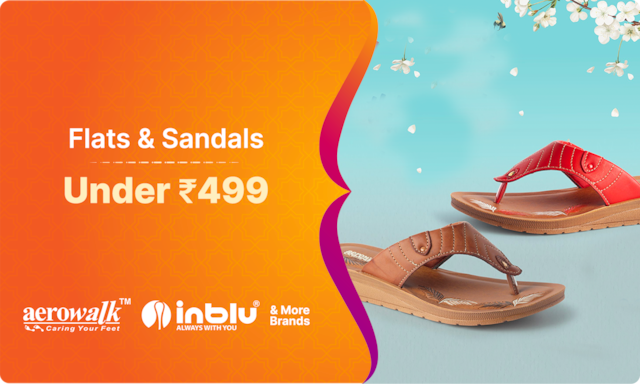 Flats and Sandals | Under Rs 499