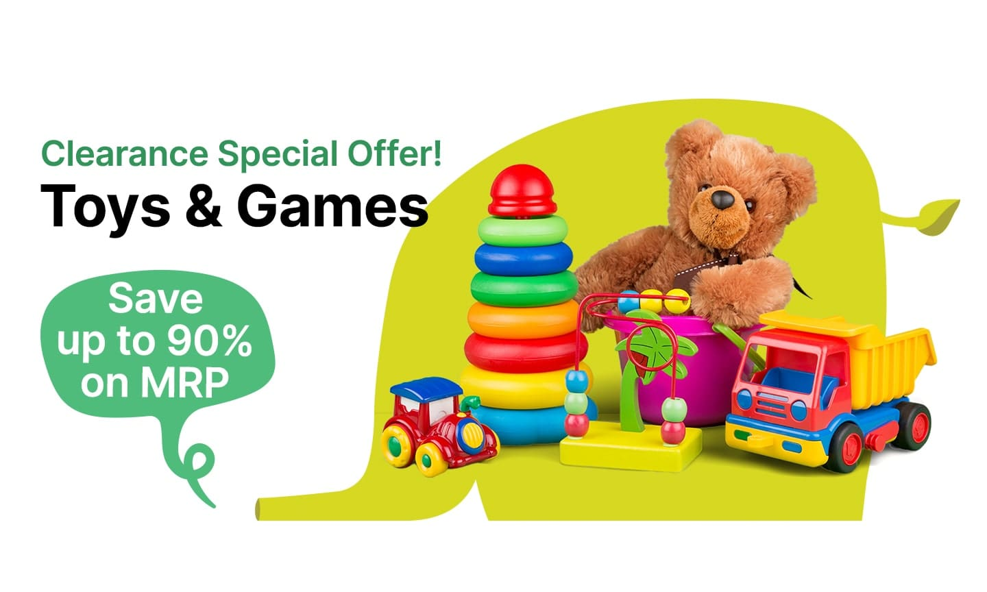 Toys & Games | Up to 90% Off