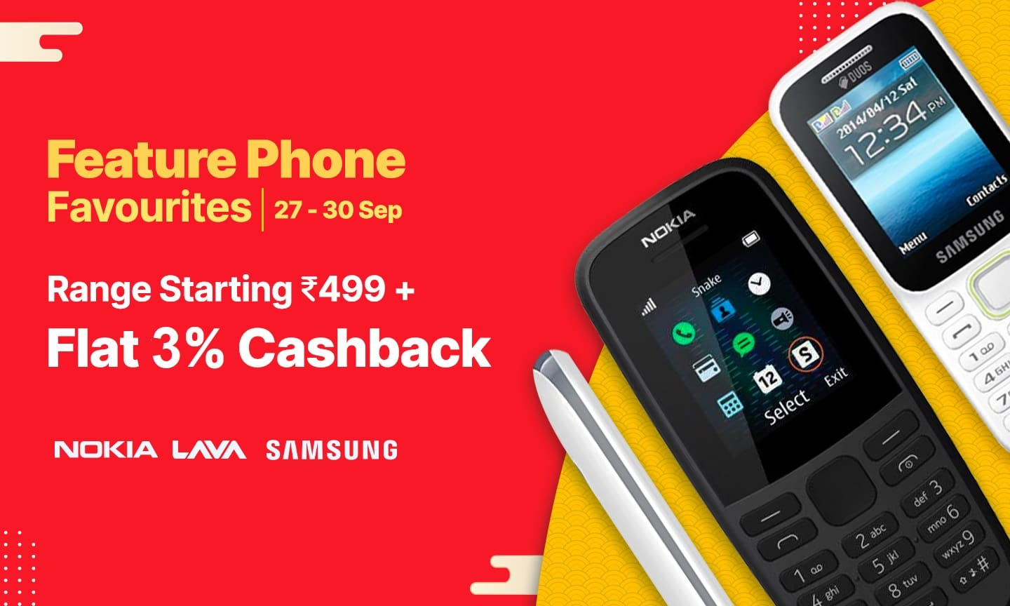 Feature Phone Sale 27-30 Sep