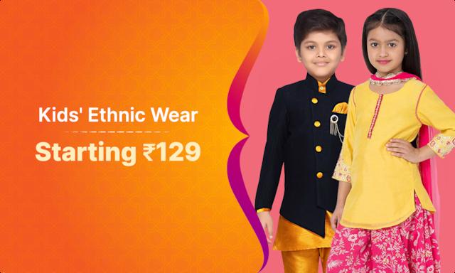 Kids Ethnic Wear | Starting Rs 129