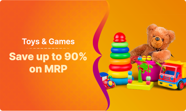 Toys & Games | Starting Rs 79