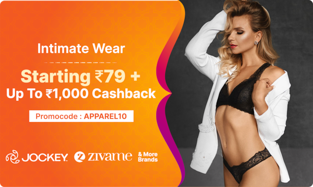 Intimate Wear   Starting Rs 79