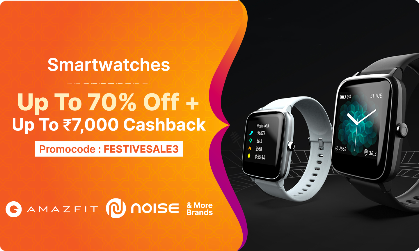 Smartwatches   Up to 70% Off