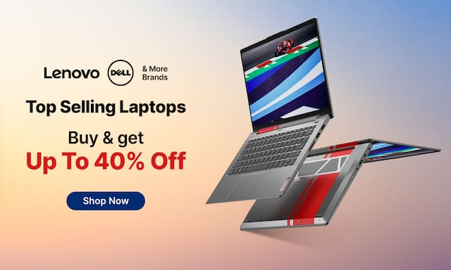 paytmmall.com - Up to 40% Discount on Top selling Laptops
